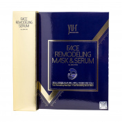 [YU.R] Face Remodelling Thread Lifting Mask & Serum Set (8 sheets + 100ml) Facial Treatment Moisturising Power-Lifting + Free Gift (Korean Paper Hanji Postcard) [International Shipping from Korea]