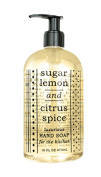 Greenwich Bay Sugar Lemon Hand Soap for the Kitchen with Shea Butter, Cocoa Butter, Grapefruit and Lemon extracts to Wash Odours and Germs 470ml
