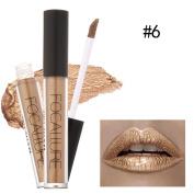 eshion New Women Fashion Cosmetics Metallic Lipstick Sexy Lip Gloss