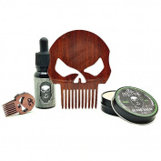 "Punisher ""Bang"" Beard Comb & Care Kit"