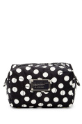 Marc By Marc Jacobs Core Pretty Nylon Small Cosmetic Case, Black Multi/ Polka Dot