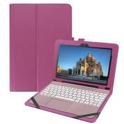 ASUS Transformer Book T100HA Case, AutumnFall Premium PU Leather Keyboard Portfolio Stand Cover Case For ASUS Transformer Book T100HA 26cm Laptop