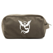 Pokemon Go TEAM MYSTIC Articuno Dual Two Compartment Travel Toiletry Dopp Kit