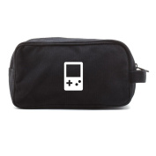 Gameboy Controller Canvas Dual Two Compartment Travel Toiletry Dopp Kit Bag
