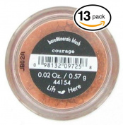 (PACK OF 13) Bare Minerals / Bare Escentuals COURAGE Blush (41554) Makeup. Ultra-light & perfectly blends onto skin! PURE BLEND OF 100% NATURAL MINERALS!