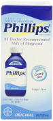 Phillips Original Milk of Magnesia Laxatives, 120ml