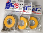 TAMIYA 18mm Masking Tape with 2pcs Refill