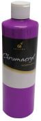 Chromacryl Premium Students Acrylic Paint, 1 pt Bottle, Neon Violet