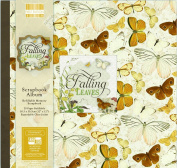 Falling Leaves First Edition Scrapbook Craft Window Memory Photo Album 30cm x 30cm