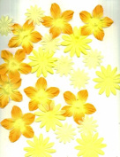 Assorted Silk Flowers - Yellows