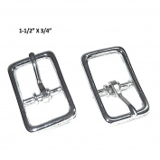 Set of 2 Weaver Leather 1.9cm Bridle Buckle