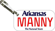 Personalised Arkansas Classic Zipper Pull State Licence Plate Replica