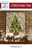 O'Christmas Tree Wall Hanging Pattern