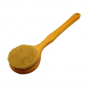 Wood Bristle Long Handle Wooden Bath Shower Body Back Brush