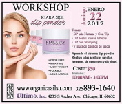 Clase DIP POWDER SISTEMA 22 ENERO Chicago de 10 a 3