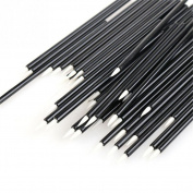 50pcs Disposable Eyeliner Brush Black