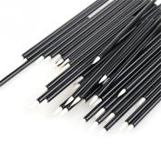50pcs Disposable Eyeliner Brush Black