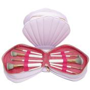 MakeUp Brush, New Fashion Brushes Mermaid Dream 10PCS Vegan Makeup Set Clam Case Shell Type