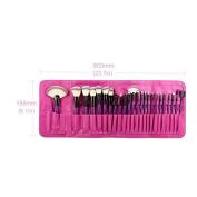 24Pcs Makeup Tools LA Pincel Professional Superior Soft Cosmetic Set Kit & Case