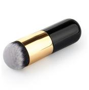 Addfavor 1Pcs Flat Liquid Foundation Brush Face Blush Kabuki Makeup Brushes Cosmeic Contour Powder BB Cream Make up Brushes Beauty Tools