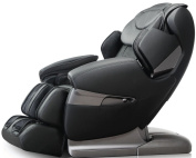 Osaki APPROLOTUSA Apex AP-Pro Lotus Massage Chair, Black, Zero Gravity Position, Space Saving Technology, Innovative Negative Oxygen Ion Ioniser, Bluethooth Connexion to Your iPhone or Smartphone