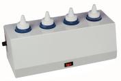 Ideal UL Four Bottle Gel/ Lotion Warmer - 240ml bottles