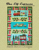 ELF EXPRESS EMBROIDERY MACHINE PATTERN, CD-ROM By Smith Street Designs NEW ##bozersnakes39