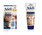 Nad's for Men Hair Removal (Cream + Strips