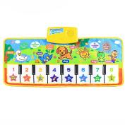 Kids Toy,Kshion Touch Play Keyboard Musical Singing Gym Carpet Mat Kids Baby Gift