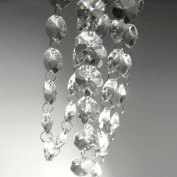 HDYD 4m Crystal Beads Chain Garland of Clear Chandelier Bead Lamp Chain