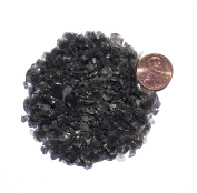 Natural Crushed Black Obsidian Stone Inlay, Coarse, 30ml