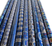 6 Roll-Count Hanukkah Gift Wrap in Assorted Designs - 28sqm