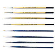 Artists & Modelmakers Extra Fine Detail Brush Set of 8 Wargaming Figurine