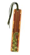 Fiddlehead Fern Wooden Bookmark with Tassel