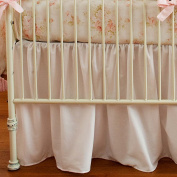 Carousel Designs Shabby Chenille 2-Piece Crib Bedding Set