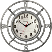 "WESTCLOX 32021C 36cm "" Round Compass Wall Clock Home, garden & living"