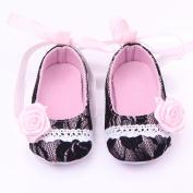 M2cbridge Baby Girl's Bow Dress Shoe Infant Toddler Pre-walker Crib Shoe