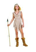 RG Costumes Native American Princess Costume, Brown, Large