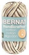 Bernat Handicrafter Cotton Yarn, Ombre, 350ml, Chocolate, Single Ball