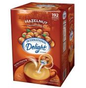 Doaaler(TM) International Delight Hazelnut Coffee Creamer Singles 192 ct. - Brand New Item