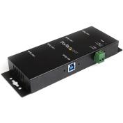 StarTech.com Mountable 4 Port Rugged Industrial SuperSpeed USB 3.0 Hub
