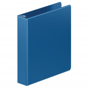 Wilson Jones Heavy Duty D-Ring Binder with Extra Durable Hinge, 3.8cm , PC Blue