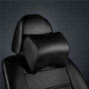 Calcifer® 1 Pcs Brand New Fashion Comfortable Memory Foam Head Massage Car Neck Pillow Headrest Seat