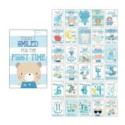 Baby Milestone Cards Boy