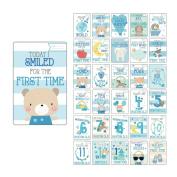 Baby Milestone Cards Boy