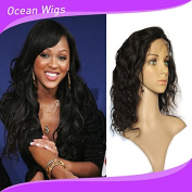 Quercy Hair® Full Cuticle Free Part Brazilian Remy Hair Body Wave Front Lace Wig