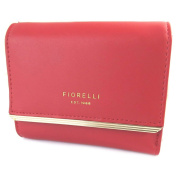 "Creative purse 'Fiorelli'red - 12x10x3 cm (4.72""x3.94""x1.18"")."