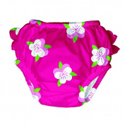 iPlay Ultimate Swim Mod Diper Fuchsia Pansy Size M Sun Protection 50 +