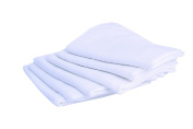 PMP Set of 6 square cotton muslin nappies 70 x 70 cm