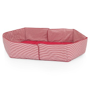 Herlag H9055-362 Playpen Mattress Insert for Use with Product H1047 Red Striped
